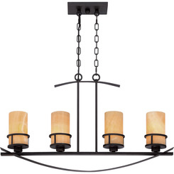 Quoizel Lighting KY433IB Kyle Island Chandelier