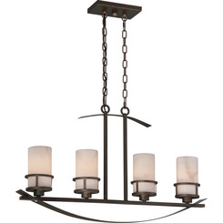 Quoizel Lighting KY433IN Island 6-Lgt Iron Gate