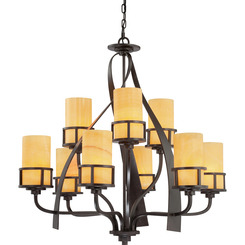 Quoizel Lighting KY5009IB Kyle Foyer Piece