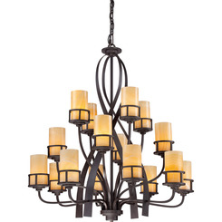 Quoizel Lighting KY5016IB Kyle Foyer Piece