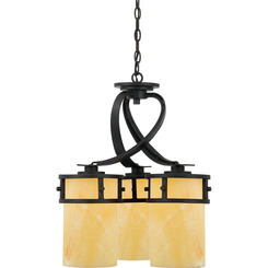 Quoizel Lighting KY5103IB Kyle Dinette Chandelier