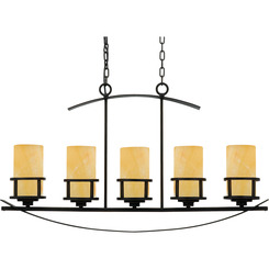 Quoizel Lighting KY540IB Kyle Island Chandelier