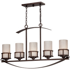Quoizel Lighting KY540IN Kyle Island Chandelier