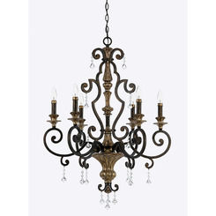 Quoizel Lighting MQ5006HL Marquette Chandelier