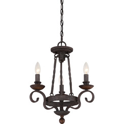 Quoizel Lighting NBE5303RK Noble Chandelier