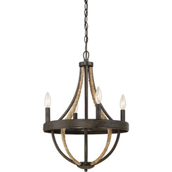 Quoizel Lighting PB5004TK Chandelier With 4 Lights