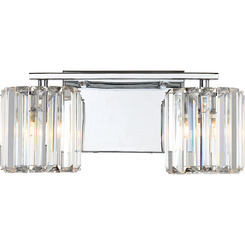 Quoizel Lighting PCDV8602C Bath Fixture With 2 Lights