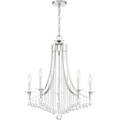 Quoizel Lighting QSP5005PK Queenship Chandelier