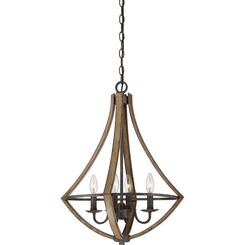 Quoizel Lighting SHR2818RK Shire Dinette Chandelier