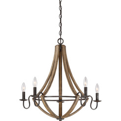 Quoizel Lighting SHR5005RK Shire Chandelier