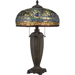 Quoizel Lighting TF1487T Tiffany Table Lamp