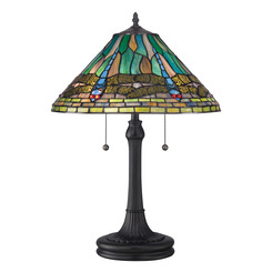 Quoizel Lighting TF1508TVB Tiffany Table Lamp
