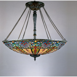 Quoizel Lighting TF1784VB Tiffany Foyer Piece