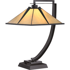 Quoizel Lighting TF1791TWT Tiffany Table Lamp