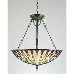 Quoizel Lighting TF1816VB Tiffany Pendant