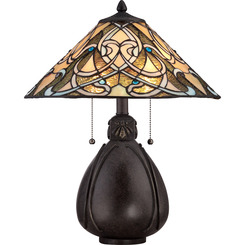 Quoizel Lighting TF1846TIB Tiffany Table Lamp