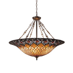 Quoizel Lighting TF1901VB Tiffany Foyer Piece