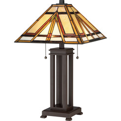 Quoizel Lighting TF2095TRS Tiffany Table Lamp