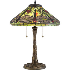 Quoizel Lighting TF2598T Tiffany Table Lamp