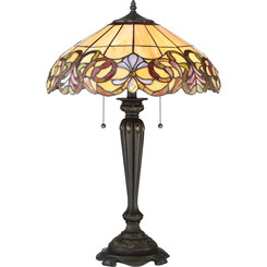 Quoizel Lighting TF2802TIB Tiffany Table Lamp