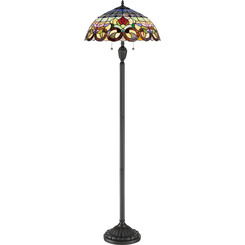Quoizel Lighting TF3180FVB Tiffany Floor Lamp