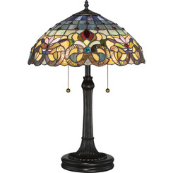 Quoizel Lighting TF3180TVB Tiffany Table Lamp