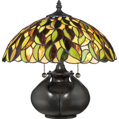Quoizel Lighting TF3181T Tiffany Table Lamp