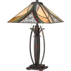 Quoizel Lighting TF3342TVA Tiffany Table Lamp