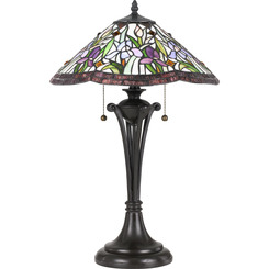 Quoizel Lighting TF3456TVB Tiffany Table Lamp