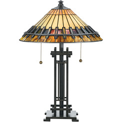Quoizel Lighting TF489T Tiffany Table Lamp