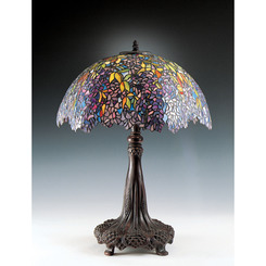 Quoizel Lighting TF6034R Tiffany Table Lamp