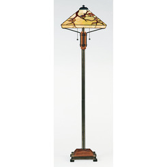 Quoizel Lighting TF9404M Tiffany Floor Lamp
