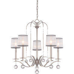 Quoizel Lighting WHI5005IS Whitney Chandelier