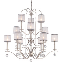 Quoizel Lighting WHI5012IS Whitney Foyer Piece