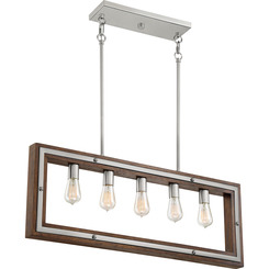 Quoizel Lighting WTY536BN Westerly Island Chandelier