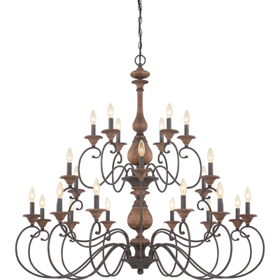 Quoizel Lighting ABN5024RK Auburn Foyer Piece