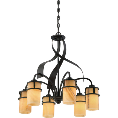 Quoizel Lighting KY5106IB Kyle Dinette Chandelier