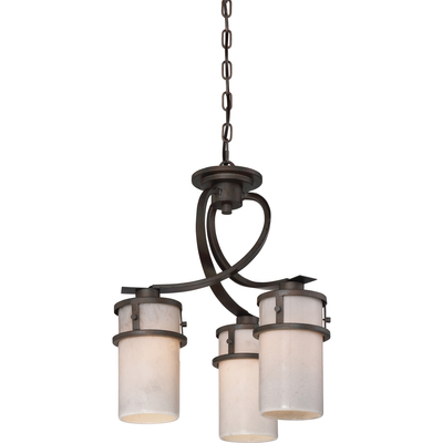 Quoizel Lighting KY5503IN Chandelier 3-Lgt Down Irn Gte