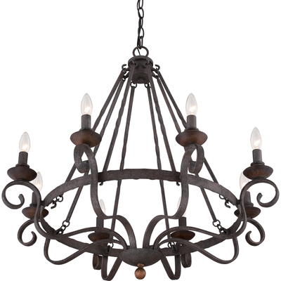 Quoizel Lighting NBE5008RK Noble Chandelier