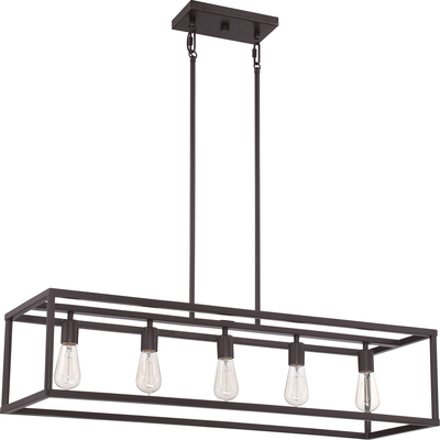 Quoizel Lighting NHR538WT New Harbor Island Chandelier