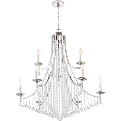 Quoizel Lighting QSP5009PK Queenship Chandelier