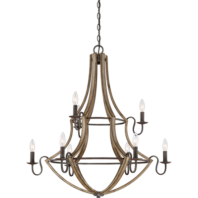 Quoizel Lighting SHR5009RK Shire Chandelier