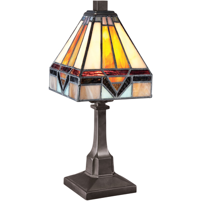 Quoizel Lighting TF1021TVB Tiffany Table Lamp