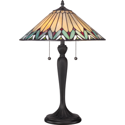 Quoizel Lighting TF1433T Tiffany Table Lamp
