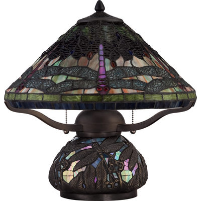 Quoizel Lighting TF1851TIB Tiffany Table Lamp