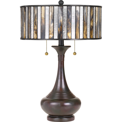 Quoizel Lighting TF3334TVA Tiffany Table Lamp