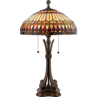 Quoizel Lighting TF6660BB Tiffany Table Lamp