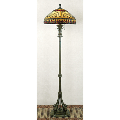 Quoizel Lighting TF9320BB Tiffany Floor Lamp