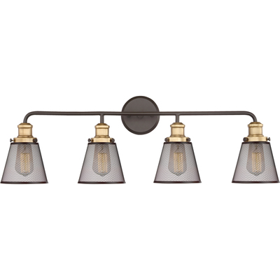 Quoizel Lighting VLT8604WT Vault Bath Light
